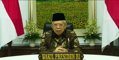 Wapres Minta Ormas Islam Jaga Kekuatan Melalui Komitmen Islah