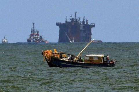 Kapal Kimia Tenggelam di Sri Lanka, PBB Khawatirkan Bencana Lingkungan
