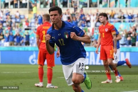 Euro 2020: Kalah dari Italia, Wales Tetap ke 16 Besar