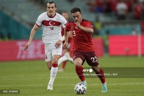 Euro 2020: Hajar Turki, Swiss Tetap Gagal Lolos Otomatis ke 16 Besar