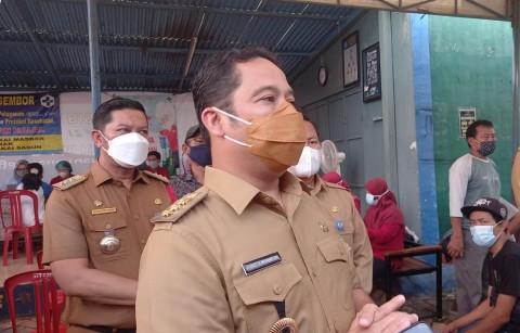 Kota Tangerang Vaksinasi Massal Warga Zona Merah