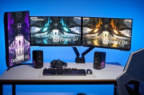 Samsung Umumkan Lini Monitor Gaming Odyssey 2021