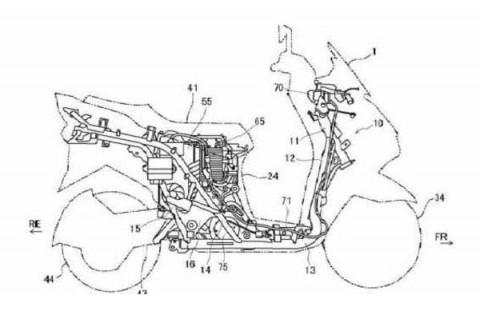 Suzuki Persiapkan Skuter Listrik, Ini Desainnya