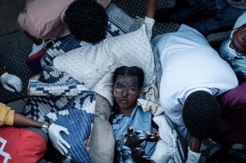 Serangan Udara Ethiopia Hantam Pasar Tigray, 64 Orang Tewas