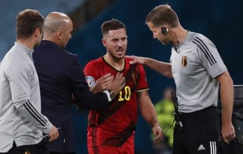 Cedera Hamstring, Hazard Ucapkan Satu Janji untuk Timnas Belgia
