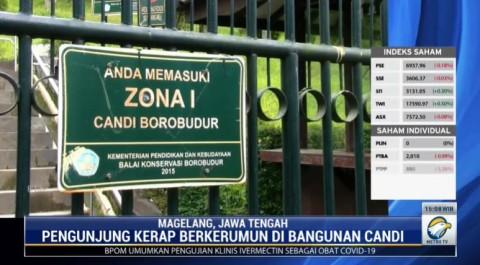 Candi Borobudur Ditutup, Jumlah Pengunjung Terus Menurun