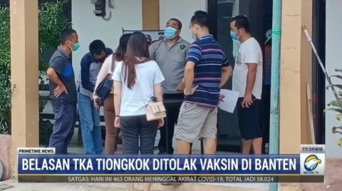Populer Daerah, Belasan TKA Tiongkok Ditolak Vaksinasi Hingga 6 Orang Meninggal Dalam Kecelakaan KM Yunice