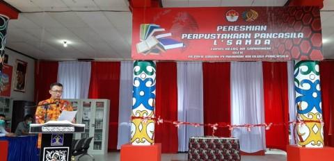 Pertama di Indonesia, Perpustakaan Pancasila Hadir di Lapas