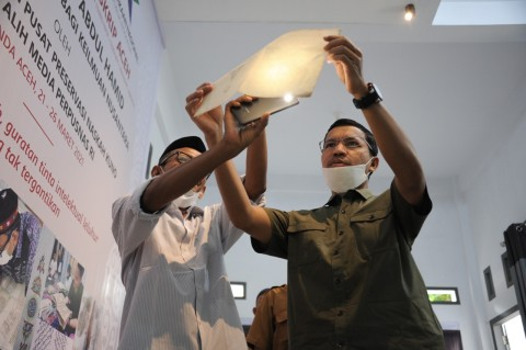 Cek Midi, Pahlawan Manuskrip Kuno Aceh