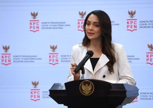 Juru Bicara Pemerintah untuk Covid-19 dan Duta Adaptasi Kebiasaan Baru dr Reisa Kartikasari Broto Asmoro. (Foto: Covid19.go.id.