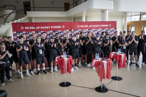 Skuat Denmark Disambut Bak Pahlawan di Negerinya