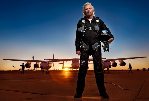 Richard Branson, Miliarder Ketiga yang Berhasil ke Angkasa