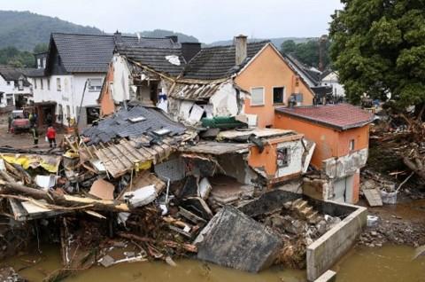Banjir Eropa Barat Mulai Surut, Korban Tewas Lampaui 150 Orang