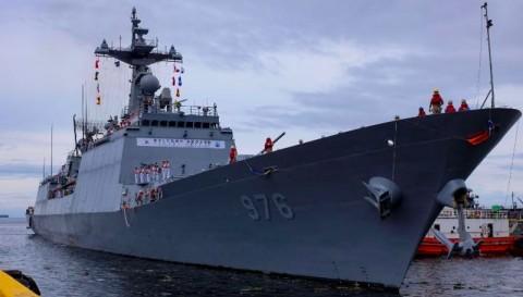 Kapal Perang Catat Klaster Penularan Covid-19 Terbesar Korea Selatan