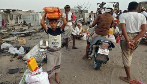 Warga Yaman Terpaksa Kurbankan Ayam Karena Krisis Ekonomi Akibat Perang