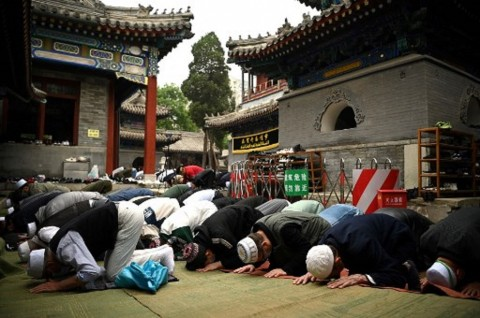 72 Masjid di Ibu Kota Tiongkok Gelar Salat Iduladha