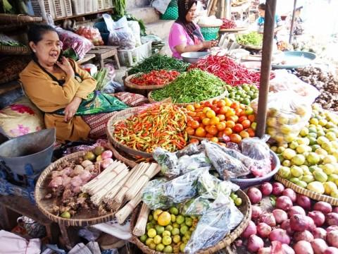 Harga Pangan di Bandar Lampung Cenderung Stabil