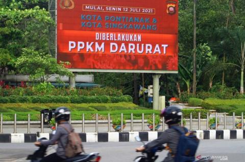 Kalimantan Barat Perpanjang PPKM