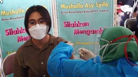 Vaksinasi Covid-19 untuk Anak di Jepara Tersendat