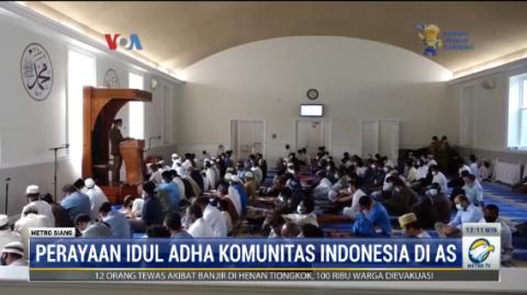 Mengintip Perayaan Iduladha Komunitas Indonesia di AS