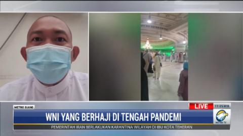 Jemaah Haji Pakai Batu yang Telah Disanitasi untuk Lempar Jumrah