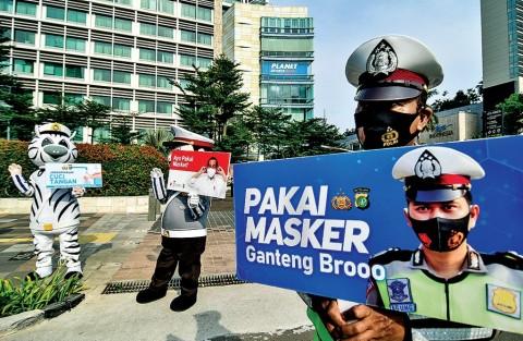 Revisi Perda Covid-19 DKI, Bandel Tak Pakai Masker Dibui 3 Bulan