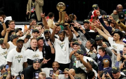 Sederet Fakta Menarik Usai Milwaukee Bucks Juara NBA 2020-2021
