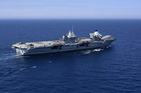 Inggris Akan Tempatkan 2 Kapal Perang Secara Permanen di Asia Pasifik