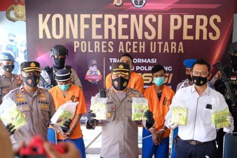 Peredaran 7 Kg Sabu di Aceh Utara Digagalkan