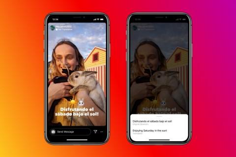 Instagram Bisa Terjemah Bahasa di IG Stories