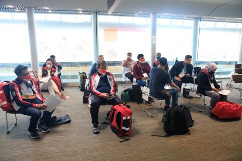 Jepang Terapkan Prokes Ketat Sejak Awal Tiba di Bandara