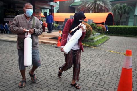 Layanan Pengisian Tabung Oksigen Gratis di Kota Tangerang Diperpanjang