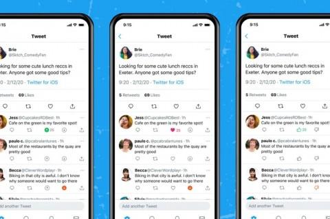 Twitter Uji Tombol Pemungutan Suara di Tweet