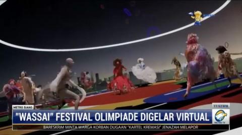 Wassai, Festival Pembuka Olimpiade Tokyo Digelar Virtual