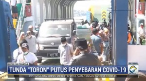Kendaraan Arus Balik Mudik Toron Bebas Melibas Jalur Madura-Surabaya