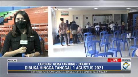 NasDem Vaksinasi 500 Pelajar di Jakarta Utara