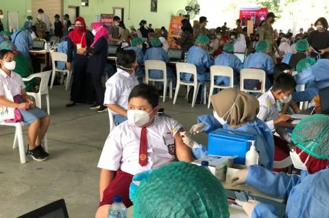 1.557 Siswa SMP di Kabupaten Tangerang Terima Vaksinasi Covid-19