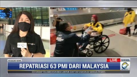 50 Pekerja Migran Indonesia dari Malaysia Tiba di Bandara Soetta