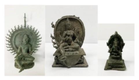 Amerika Memulangkan 3 Barang Antik Berbentuk Patung ke Indonesia