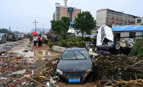 Kesaksian Korban Banjir Tiongkok Melihat Kehancuran di Provinsi Henan