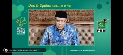 Said Aqil Sindir Perolehan Kursi PKB di Parlemen pada Pemilu 2019