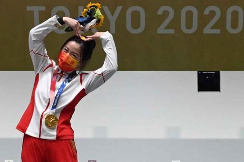 Wow! Emas Pertama Olimpiade Tokyo Berhasil Direbut Tiongkok