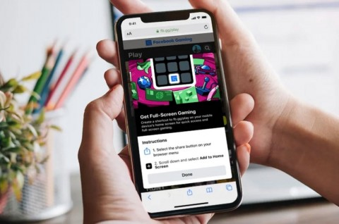 Facebook Boyong Gaming Cloud ke Perangkat Apple dengan Aplikasi Web