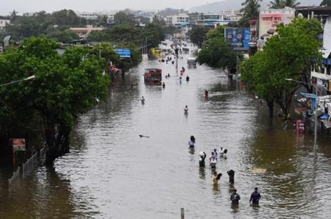 Bertambah Lagi, Korban Tewas Banjir India 136 Orang
