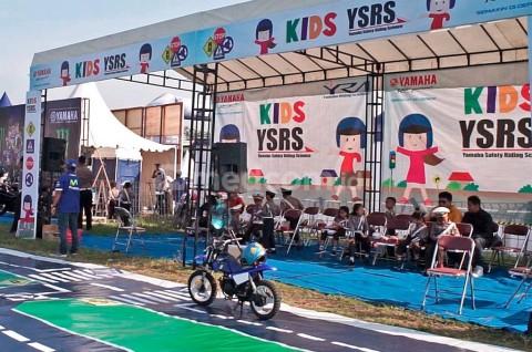 Edukasi Berkendara di Perayaan Hari Anak ala Yamaha