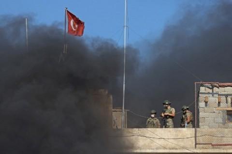 Dua Prajurit Turki Tewas dalam Sebuah Serangan di Suriah