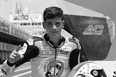 Pembalap Muda Spanyol Tewas di Kejuaraan Junior
