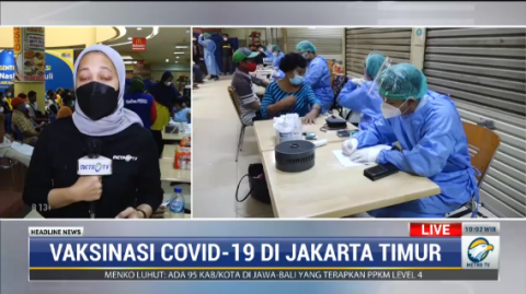 700 Warga Ikut Vaksinasi NasDem Peduli di Pulo Gadung