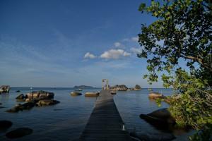 Keindahan Pantai Tapak Natuna