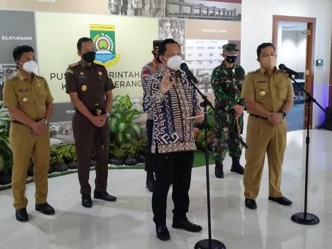 Mendagri Minta Angka BOR di Kota Tangerang Turun Hingga 50%
